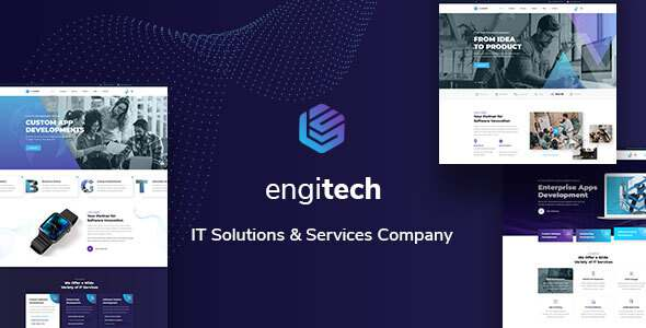 Engitech – IT Solutions amp Services Template TFx