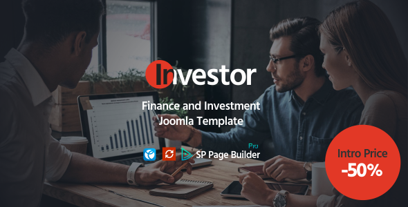 Investor – Finance and Investment Joomla Template TFx