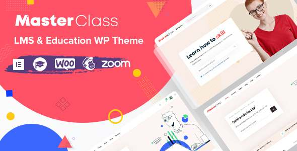MasterClass – LMS amp Education WordPress Theme TFx