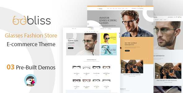 Oobliss Glasses Store - Responsive Prestashop Theme TFx