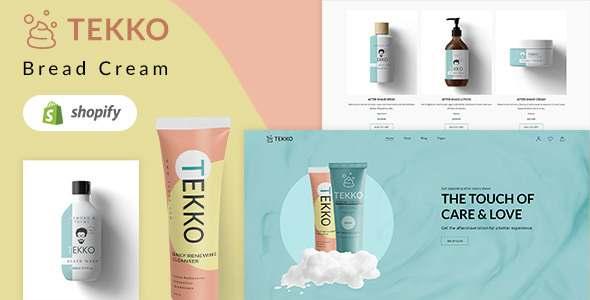 Tekko - Hairdresser amp Shaving Cream Shopify Theme TFx