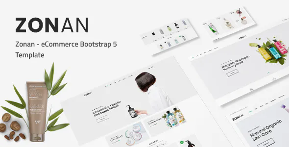 Zonan – Responsive eCommerce HTML5 Template TFx