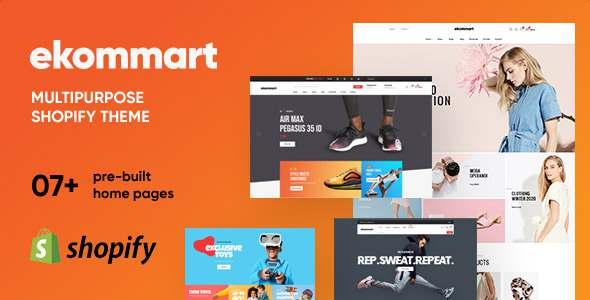 Ap Ekommart - Multipurpose Shopify Theme TFx