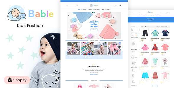 Babie - Kids Clothing amp Toys Shopify Theme TFx