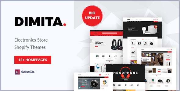 Dimita - Multipurpose Electronics Theme for Shopify TFx