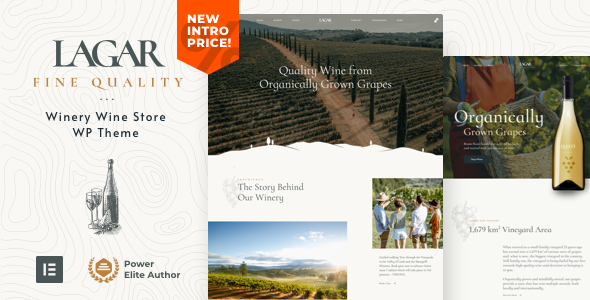 Lagar - Wine Shop WordPress TFx WordPress