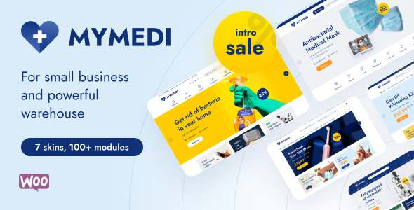 MyMedi - Responsive WooCommerce WordPress Theme TFx