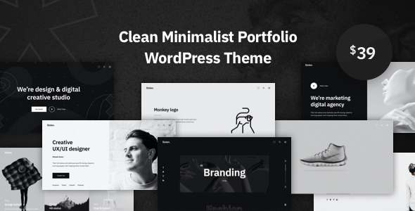 Sixten - Minimalist Portfolio WordPress Theme TFx