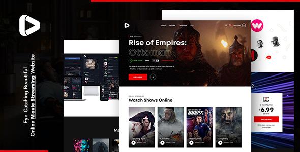 Digiflex  Online Movie Streaming WordPress Theme TFx