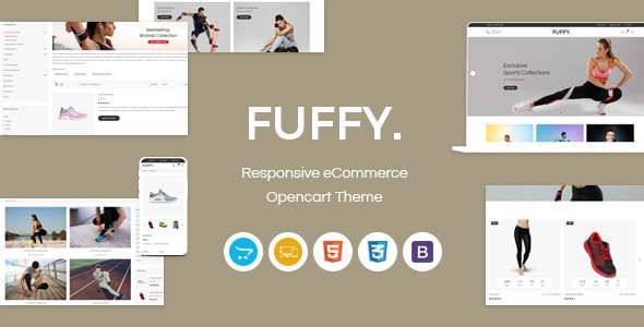 Fuffy - Responsive OpenCart Theme TFx OpenCart