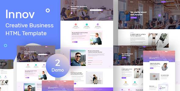 Innov - Creative Business Agency HTML Template TFx