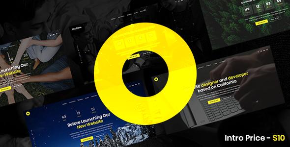 Oleos - Creative Coming Soon Website Template TFx