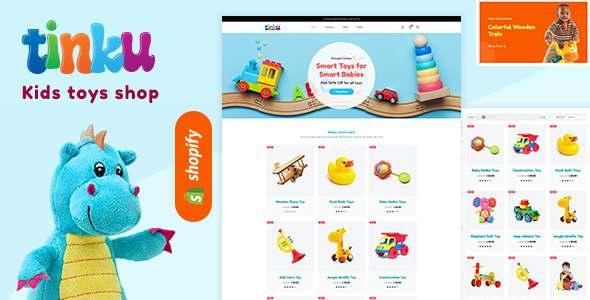 Tinku - Kids Toys amp Game Store Shopify Theme TFx