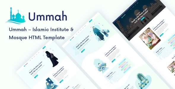 Ummah - Islamic Center HTML5 Template TFx