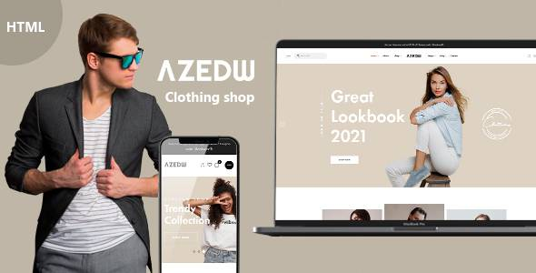 Azewd - Clothing Shop HTML Template TFx