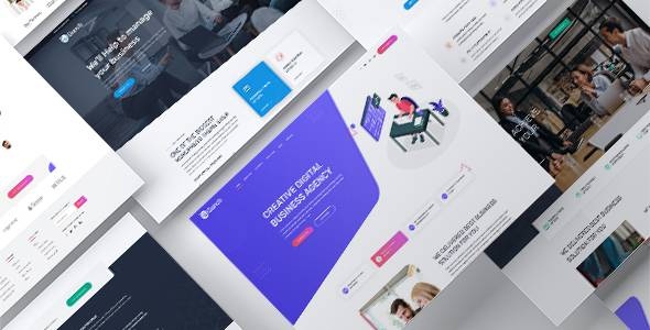 Bunch - Multi-Purpose PSD Website Templates TFx
