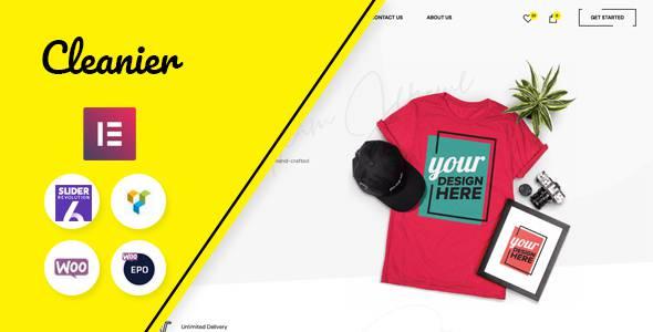 Cleanier - Fashion WooCommerce Theme TFx