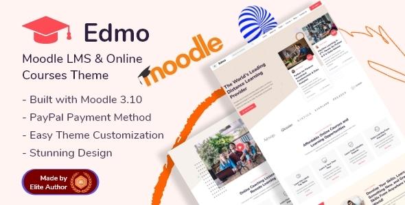 Edmo - Moodle LMS amp Online Courses Theme TFx