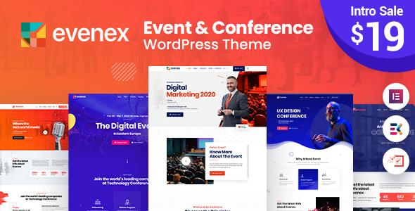 Evenex Event Conference WordPress Theme TFx