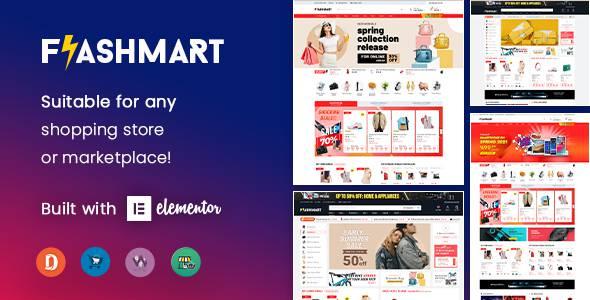 FlashMart - Multipurpose Elementor WooCommerce WordPress Theme TFx