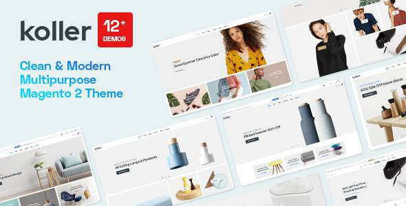 Koller – Multipurpose Sections Magento 2 Theme TFx