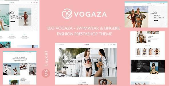 Leo Vogaza - Swimwear amp Lingerie Fashion Prestashop Theme TFx