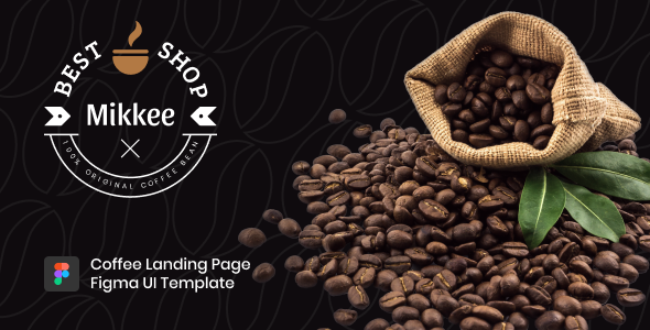 Mikkee - Coffee Landing Page HTML Template TFx