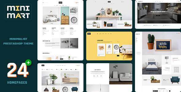 Minimart - Minimal Furniture Store Prestashop 17 Theme TFx