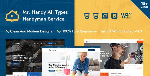 MrHandy  Handyman Multi-Services HTML Template TFx