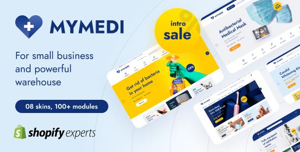 MyMedi Responsive Multi Languages Shopify Theme TFx