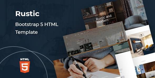 Rustic - Corporate Bootstrap 5 HTML Template TFx