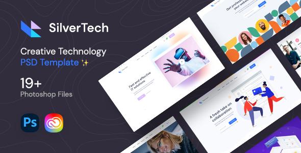 Silvertech - Creative PSD Template TFx