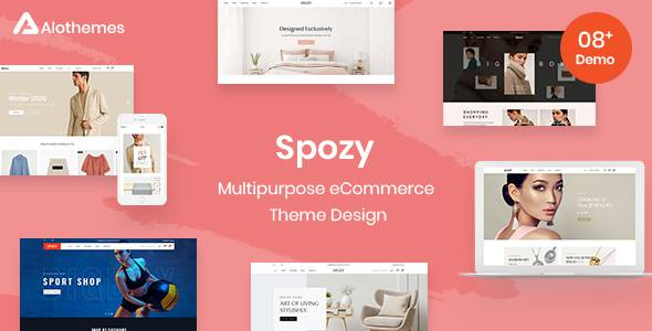 Spozy Magento 2 Theme  RTL Supported TFx