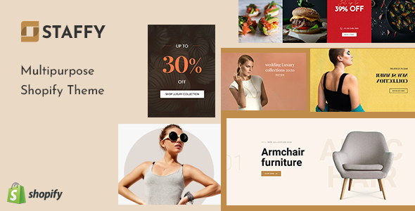 Staffy - The Responsive Multipurpose Shopify eCommerce Theme TFx
