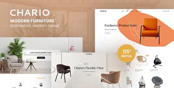 Chario - Modern Furniture Responsive Shopify Theme TFx