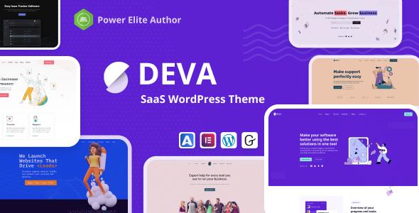 Deva - Saas WordPress Theme TFx WordPress