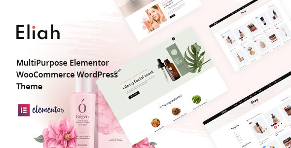 Eliah - WooCommerce WordPress Theme TFx