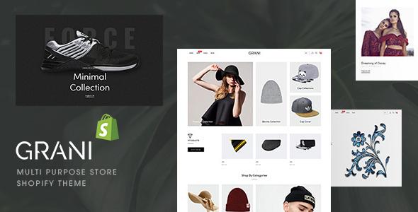 GRANI - Multipurpose Store Shopify Theme TFx
