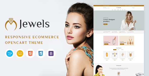 Jewels - Responsive OpenCart Theme TFx