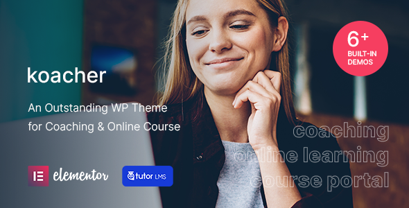 Koacher - Coaching amp Online Course WP Theme TFx