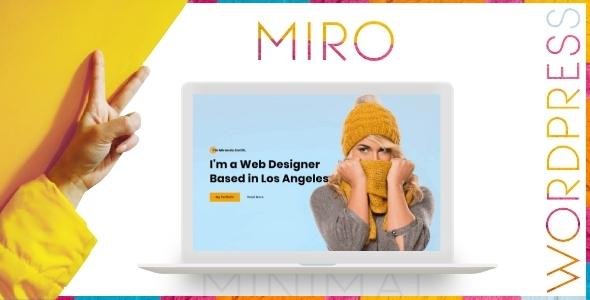 Miro - Personal Portfolio WordPress Theme TFx