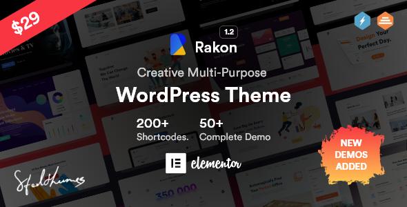 Rakon - Creative Multi-Purpose WordPress Theme TFx