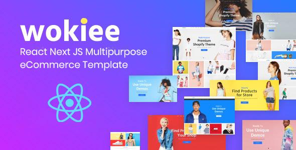 Wokiee - React Next JS Multipurpose eCommerce Template TFx