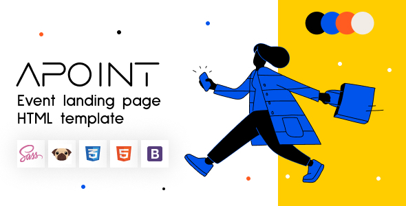 Apoint - HTML5 Event Website Template Landing Page TFx