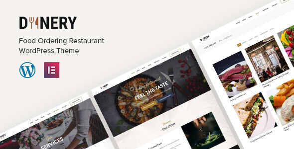 Dinery  Food Delivery Restaurant WordPress Theme TFx