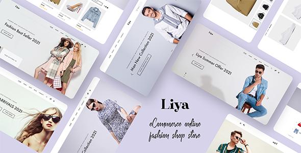 Liya - eCommerce PSD template TFx