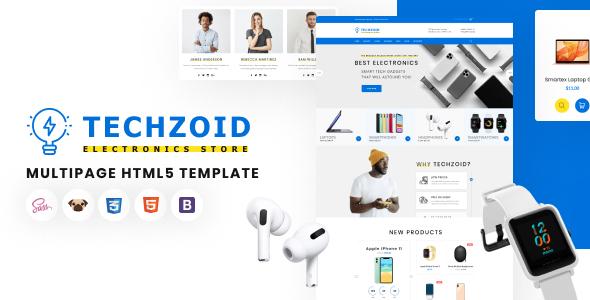 Techzoid - Electronics Store HTML5 Template TFx