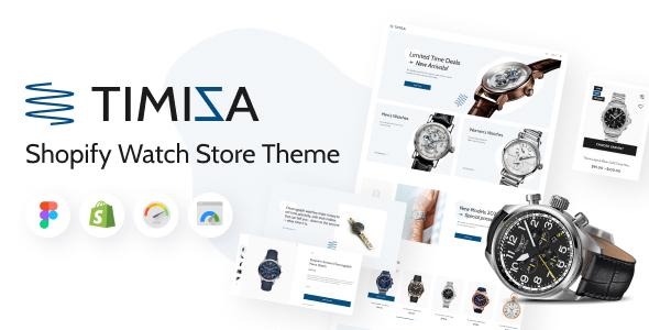 Timiza - Shopify Watch Store Theme TFx