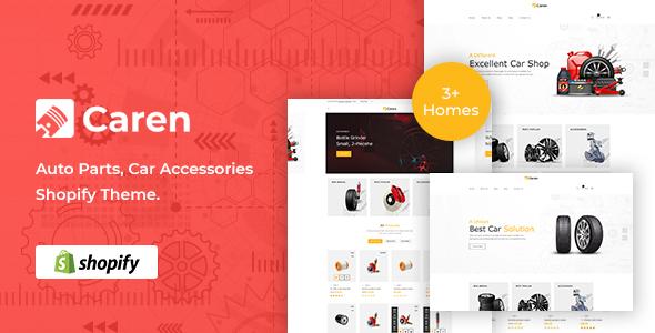 Caren - Auto Parts Car Accessories Shopify Theme TFx