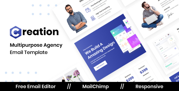 Creation Agency - Multipurpose Responsive Email Template TFx